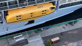 Cruise Ship Leaves Without Tardy Passengers