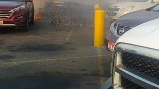 Car Catches Fire Without Warning