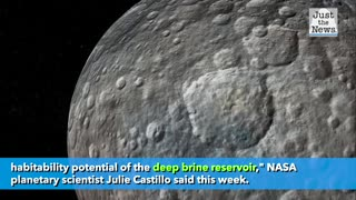 Astronomers say dwarf planet is 'ocean world,' possible harbor for life
