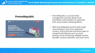 Social Media Marketing Premium Tools and Services to Consider
