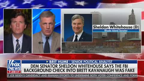 Brit Hume and Tucker Carlson discuss Kavanaugh