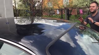 A Dent In Your Car Isn't A Problem Anymore With This Quick Trick - Video