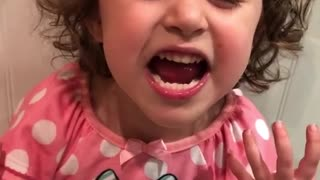 Check out this little girl's rendition of 'No Scrubs'