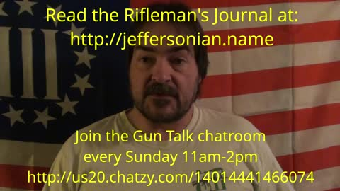 Gun Talk chatroom Sunday 11am-2pm Pacific time