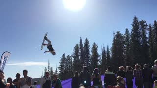 Spring Skiing.  - Video