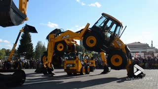 JCB bridge || ViralVideoUK - Video