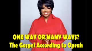 Damning Video Surfaces Where Oprah Slams Christianity and Jesus - Video