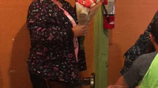 Navy Daughter Surprises Mother After Breast Cancer Diagnosis - Video