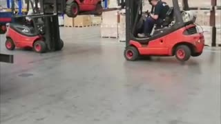 Forklift Delivery Fail