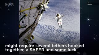 Here's How NASA Keeps Astronauts From Drifting Into Space - Video