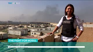 The Fight for Mosul: Iraqi army advances towards west of the city - Video