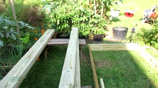 How to Build a Raised Bed Vegetable Garden Frame: Cost, Build & Simple Frame - Video