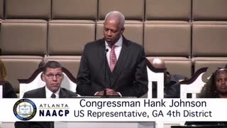 Hank Johnson spewing lies about Trump supporters