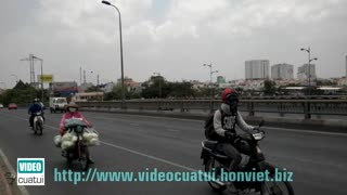 Binh Trieu Bridge - HCMC - Video