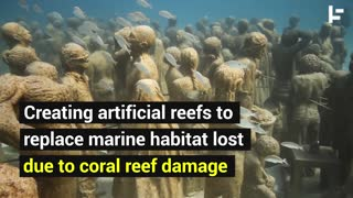 Jason deCaires Taylor is Saving Coral Reefs By Creating Living Art - Video