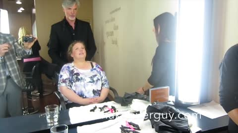 MAKEOVER: Very Long to Short Hair, by Christopher Hopkins,The Makeover Guy®