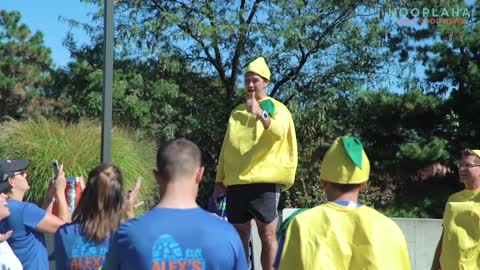 This Man In A Lemon Suit Is Changing Lives! - Warriors for a Cure