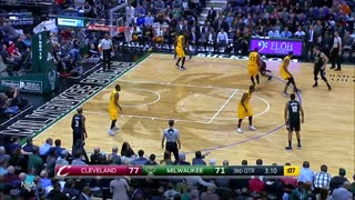 Bucks Rookies Challenge LeBron James & the Cavs Again, Start FIGHT with Richard Jefferson - Video