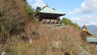 Japanese Temple Panorama and Zen music - Video