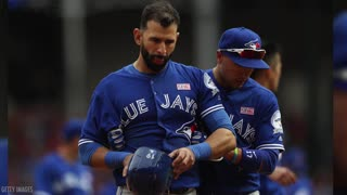Jose Bautista Gets Punched in Face By Roughned Odor, HUGE Brawl Erupts - Video