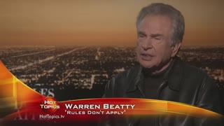 "Warren Beatty chats with Hot Topics about new movie, ""Rules Don't Apply"""