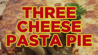How To Make Pasta Pie - Full Recipe - Video