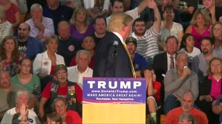 Trump says he would turn down U.S. presidential salary if elected - Video