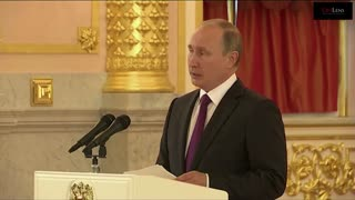 Putin Congratulates President-Elect Donald Trump - Video