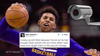 Nick Young Almost Kills Himself In Firework Explosion - Video
