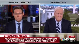 Chris Matthews Meltdown When Realizing Dems Powerless To Stop SCOTUS Nomination