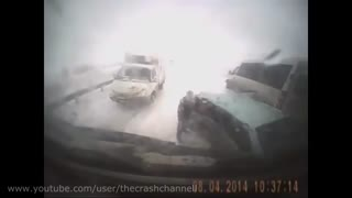 Car  accident  Oktober 2014 2 - Video