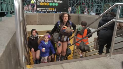 No pants subway 2014