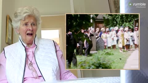 Grandmother's emotional reaction to long lost wedding tape from 1964