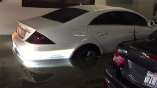 Flooded 2015 Lamborghini Huracan - Video