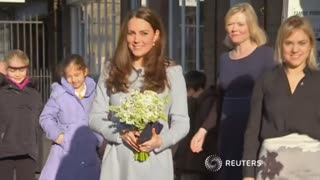 Duchess of Cambridge supports families in need - Video