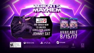 Agents of Mayhem Official Firing Squad Trailer