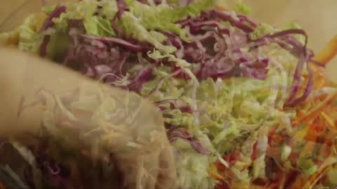 Salad Recipes - How to Make Asian-Style Coleslaw