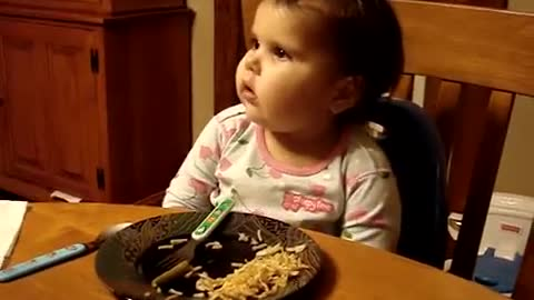 Two-Year-Old Know-It-All Answers Parents' Questions, Passing With Flying Colors