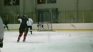 Pickup Hockey Winter Monday 23 Jan 2012 - Video