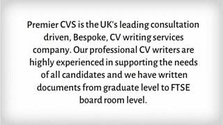 CV Writing Service - Video