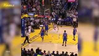 Steph Curry And The Warriors MURDER the New York Knicks - Video