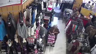 Man steals $600 from bra of 93-year-old woman in wheelchair - Video