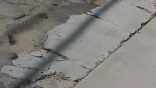 Long Beach Manhole Explodes - Video