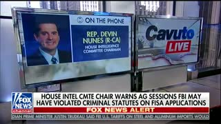 Devin Nunes Drops A MOAB On The Russia Investigation - Video