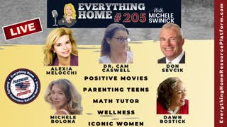 205 LIVE: Positive Movies, Parenting Teens, Math Tutor, Wellness, Iconic Women + Patriotic Soapbox