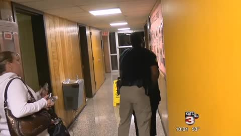 Teacher Confronts School Board About Superintendent's Big Raise — She Gets Dragged Away in Cuffs