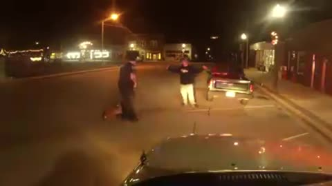 Police Dog Reads Suspect's Intentions and Saves His Partner