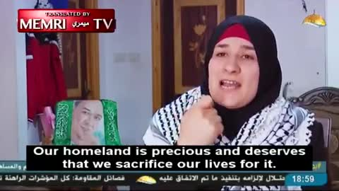 palestinian 'mother' of Palestinian Knife Attacker in Praise of Son