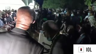 WATCH: Prince Misuzulu whisked away after will reading names him king of the Zulu nation