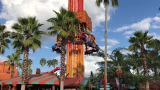 Busch Gardens Falcon's Fury - Video